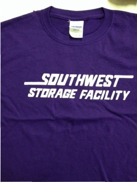 southwest storage facility screen printing