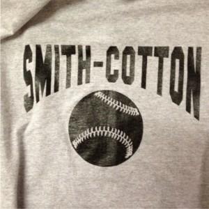 smith cotton baseball screen printing