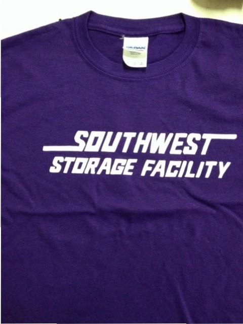 southwest storage facility screen printing