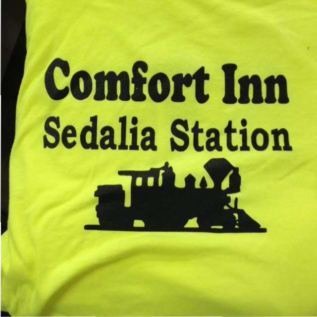 comfort inn screen printing