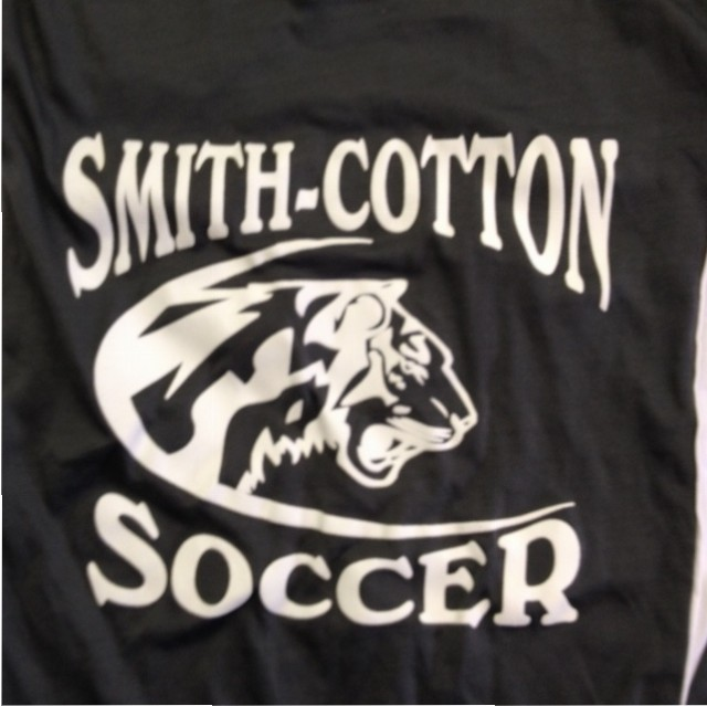 smith cotton soccer screen printing