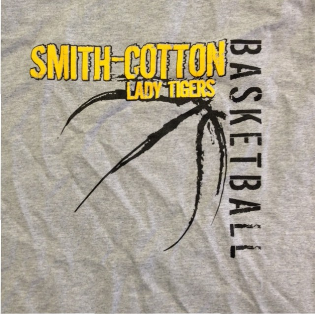 smith cotton basketball screen printing