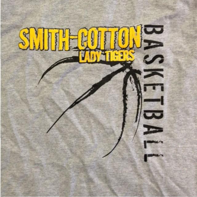 smith cotton basketball screen printing